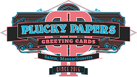 Plucky Papers Footer Logo